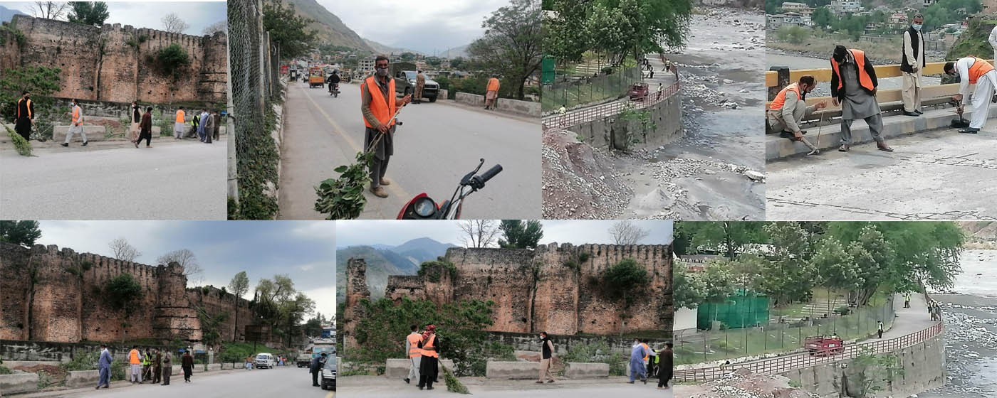 Clean and Green Muzaffarabad Campaign.